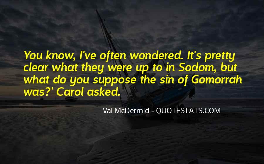 Quotes About Sodom And Gomorrah #1271748
