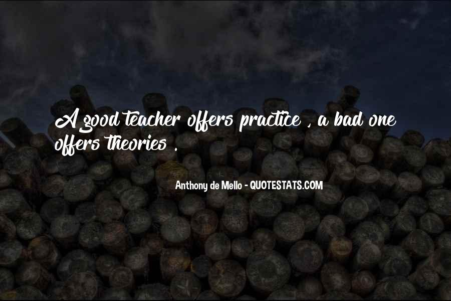 Quotes About A Bad Teacher #1155709