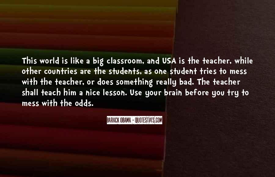 Quotes About A Bad Teacher #1394785