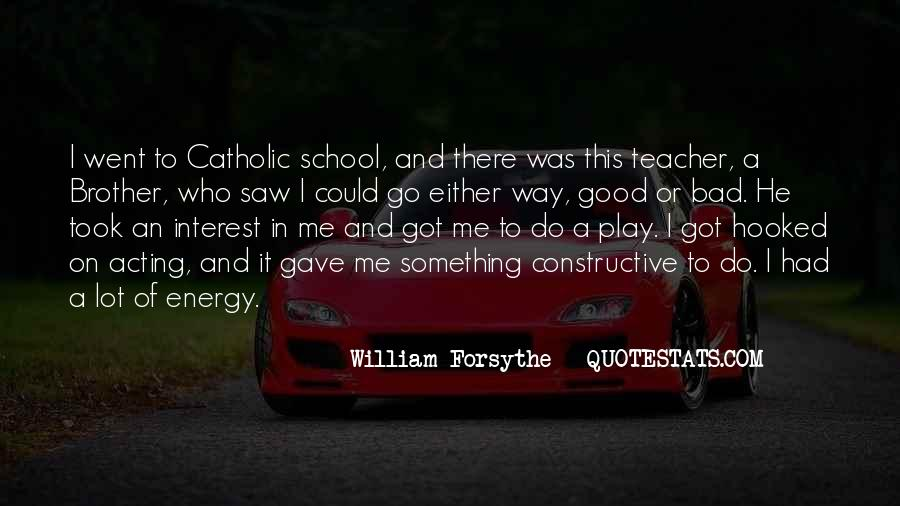 Quotes About A Bad Teacher #1810741