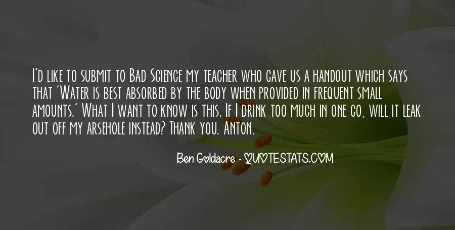 Quotes About A Bad Teacher #1839595