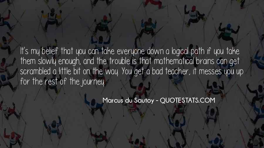 Quotes About A Bad Teacher #342665