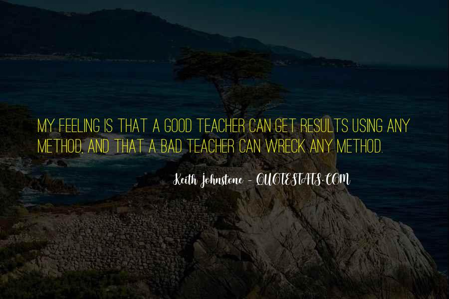 Quotes About A Bad Teacher #399232
