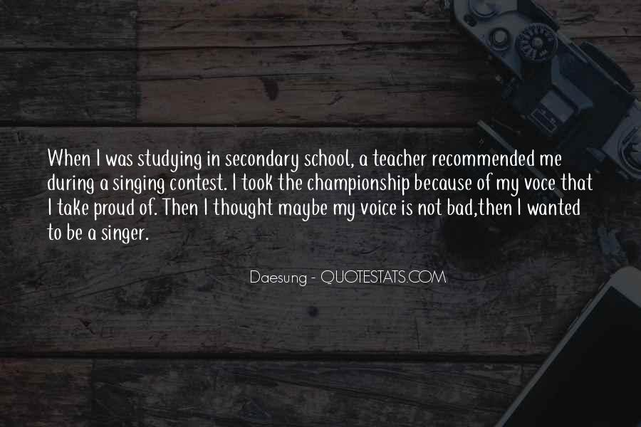 Quotes About A Bad Teacher #494019