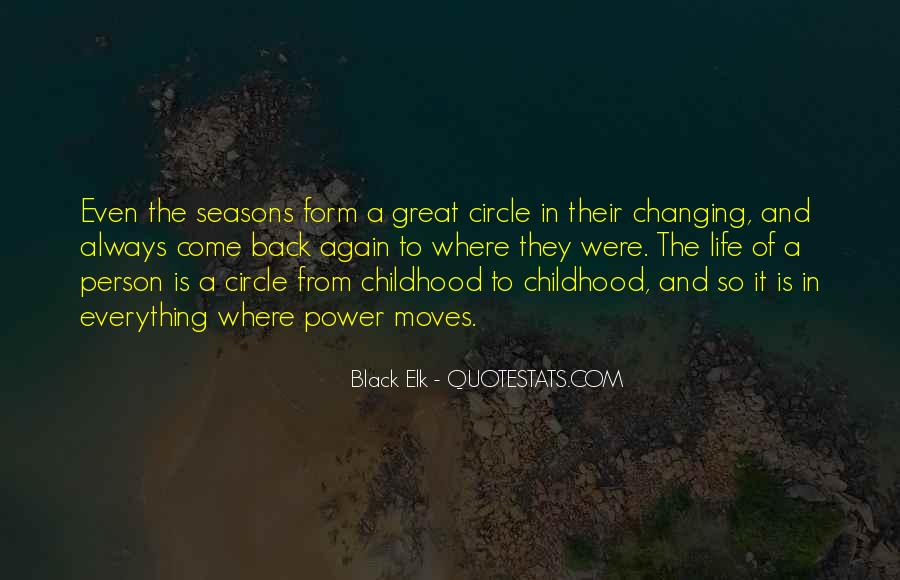 Quotes About The Seasons Of Life #1051348