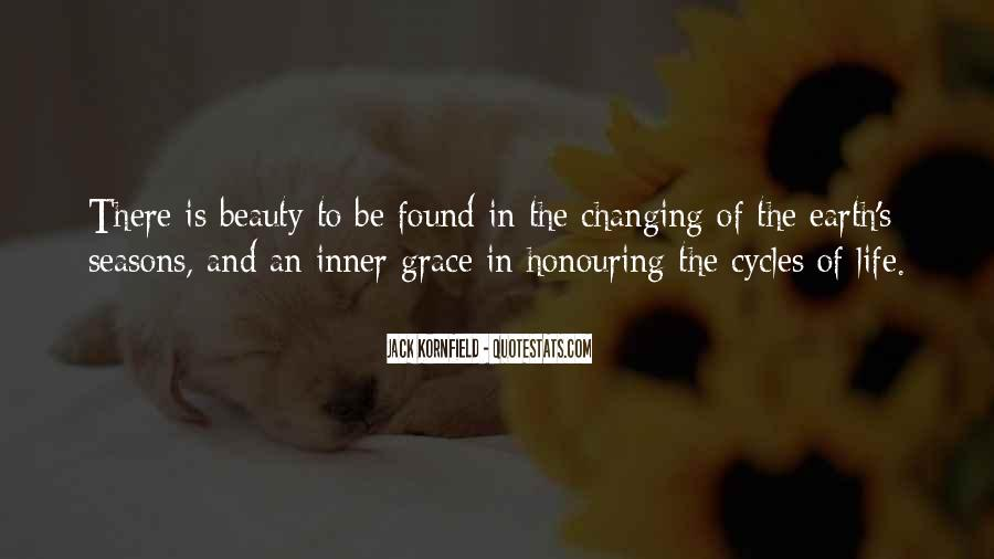 Quotes About The Seasons Of Life #1081487