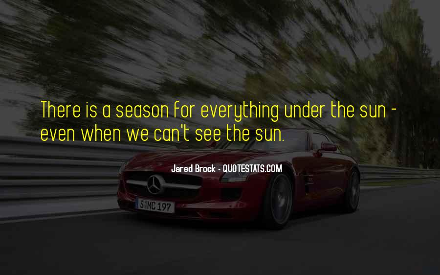 Quotes About The Seasons Of Life #1178494