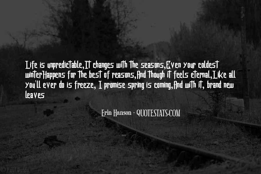 Quotes About The Seasons Of Life #1373739