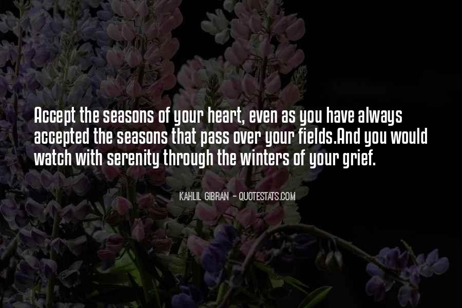 Quotes About The Seasons Of Life #1417561
