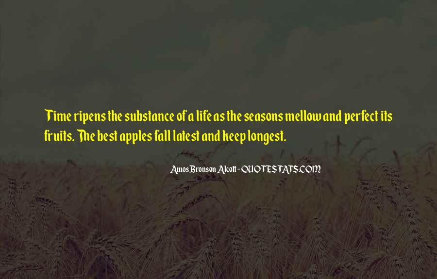 Quotes About The Seasons Of Life #1466714