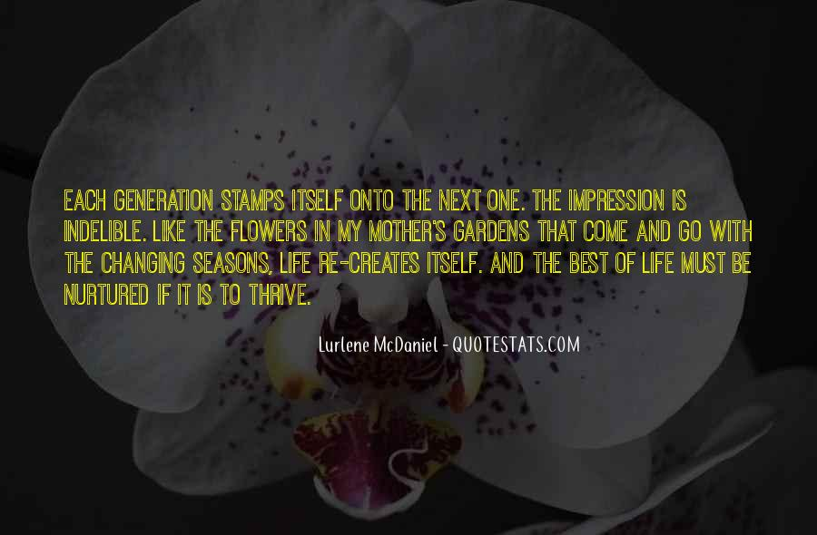 Quotes About The Seasons Of Life #1484018