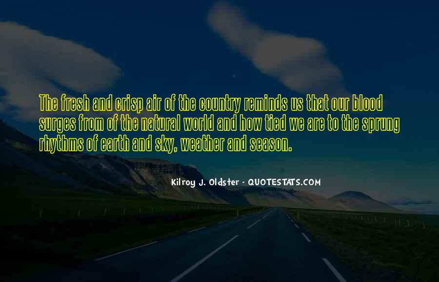 Quotes About The Seasons Of Life #227286
