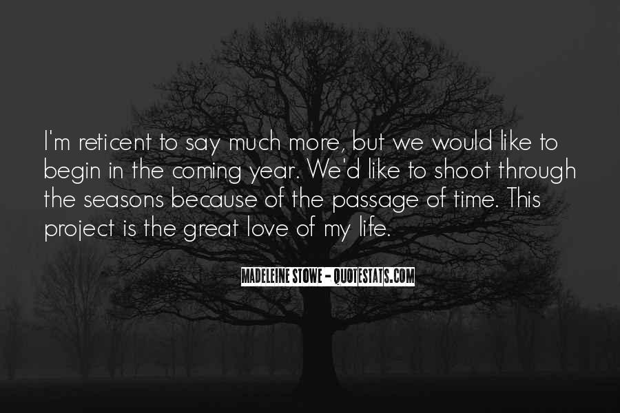 Quotes About The Seasons Of Life #300255