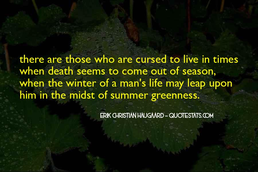 Quotes About The Seasons Of Life #472542