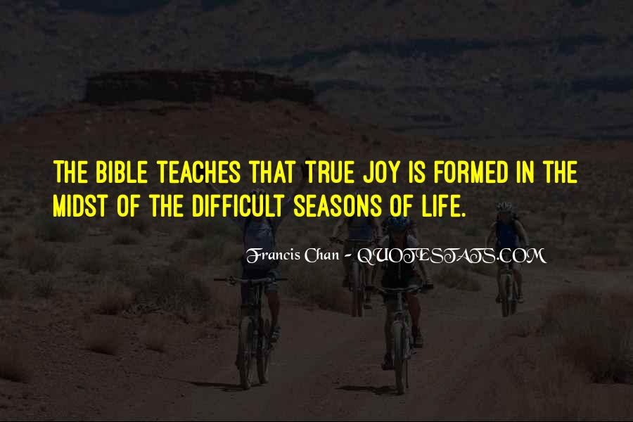 Quotes About The Seasons Of Life #481406