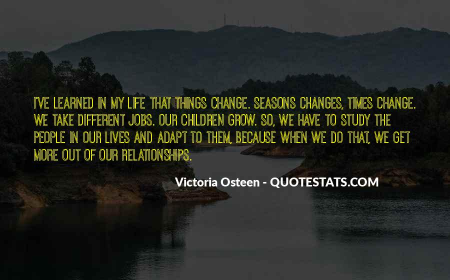 Quotes About The Seasons Of Life #631478