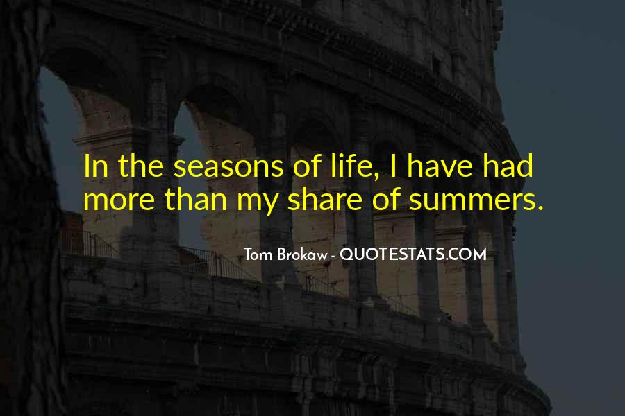 Quotes About The Seasons Of Life #633842