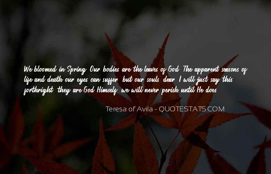 Quotes About The Seasons Of Life #698015
