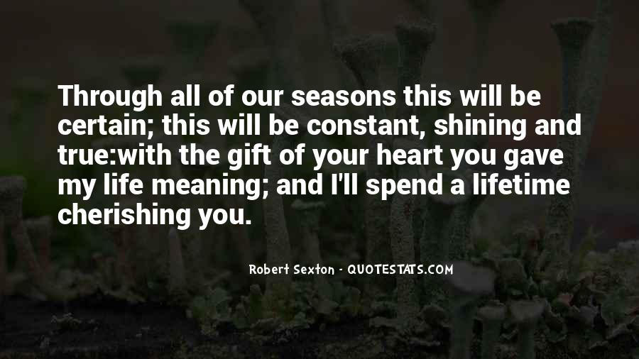 Quotes About The Seasons Of Life #844277