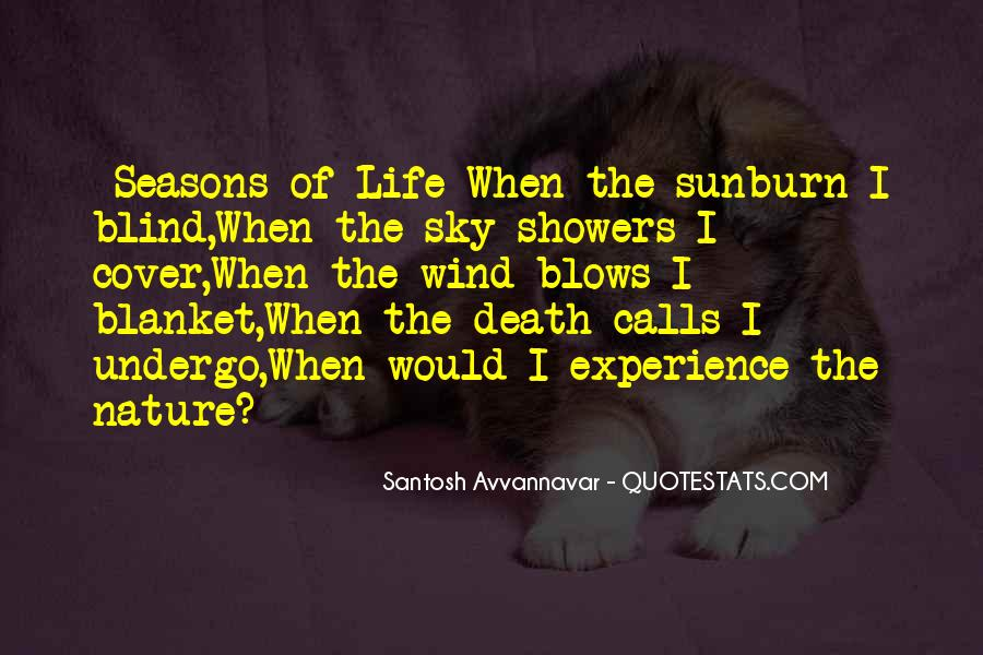 Quotes About The Seasons Of Life #914166