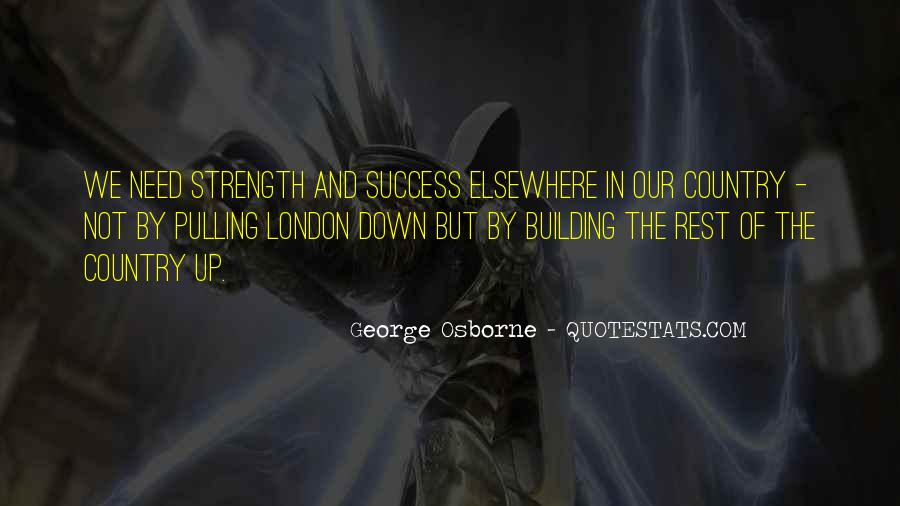 Quotes About Building Strength #1066224