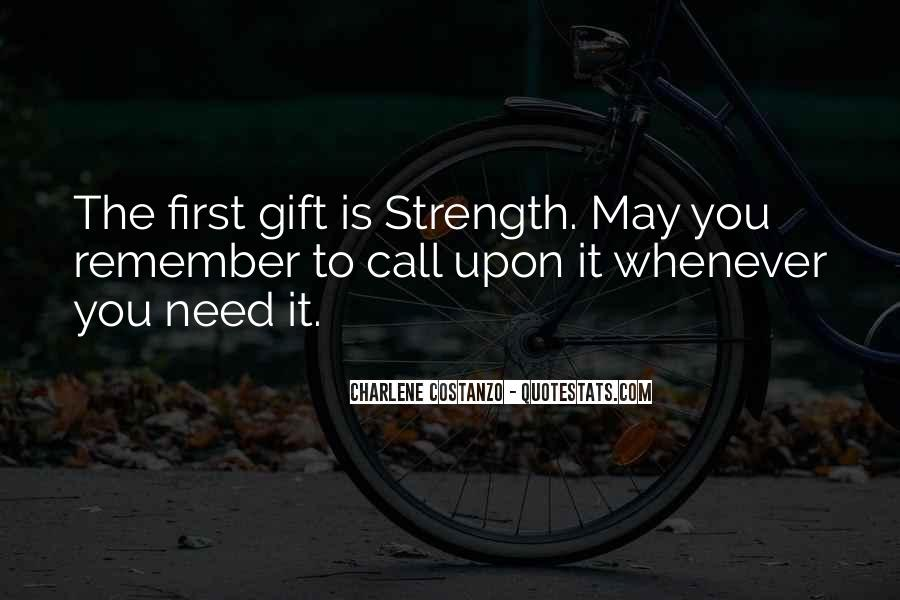 Quotes About Building Strength #1208871