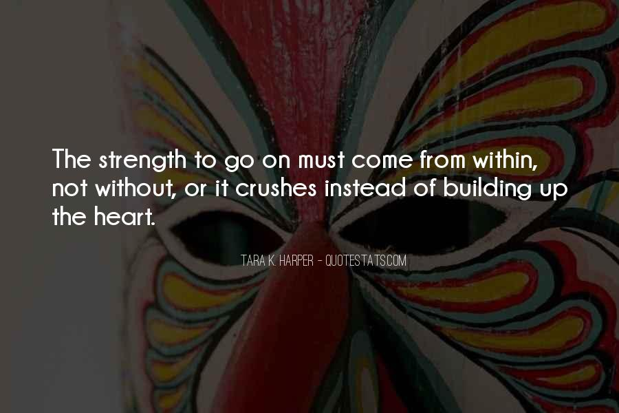 Quotes About Building Strength #1720383