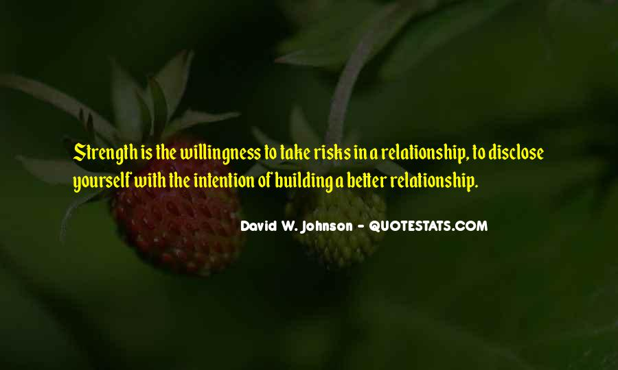 Quotes About Building Strength #216974