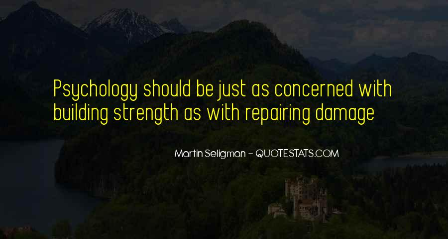 Quotes About Building Strength #594916