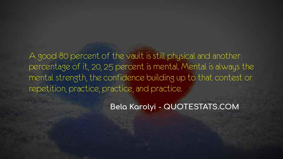 Quotes About Building Strength #841336