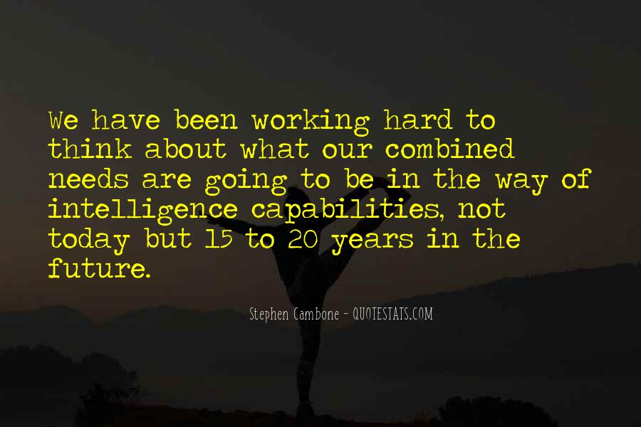 Quotes About Working Hard For Your Future #272755