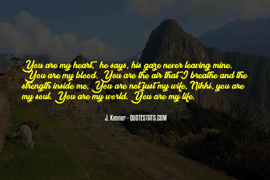 Quotes About Wife Leaving #1551983