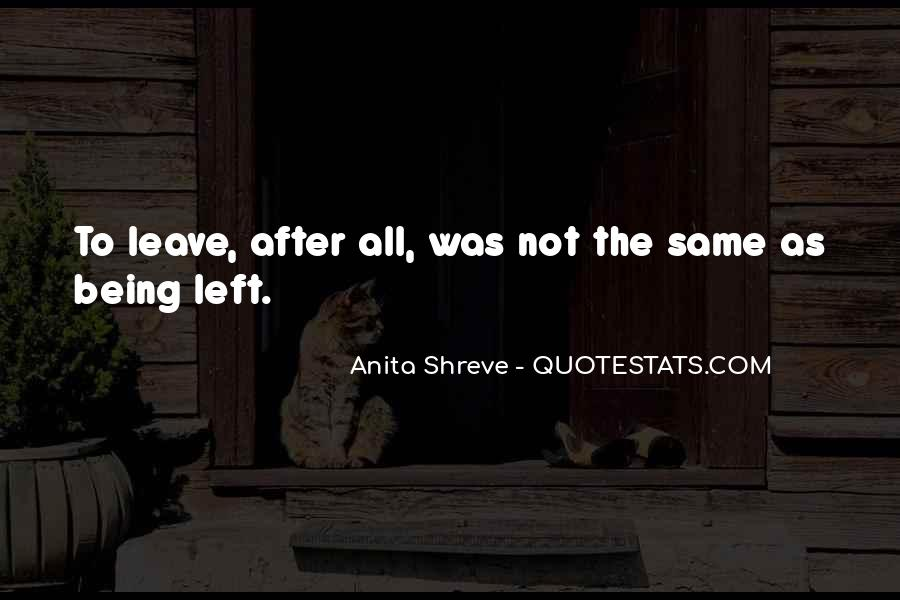 Quotes About Wife Leaving #1624424