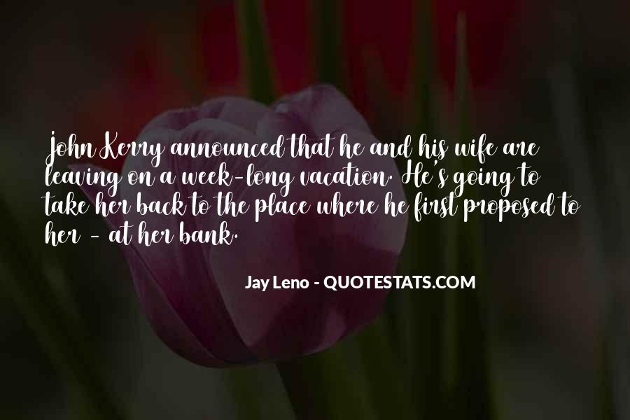 Quotes About Wife Leaving #482554