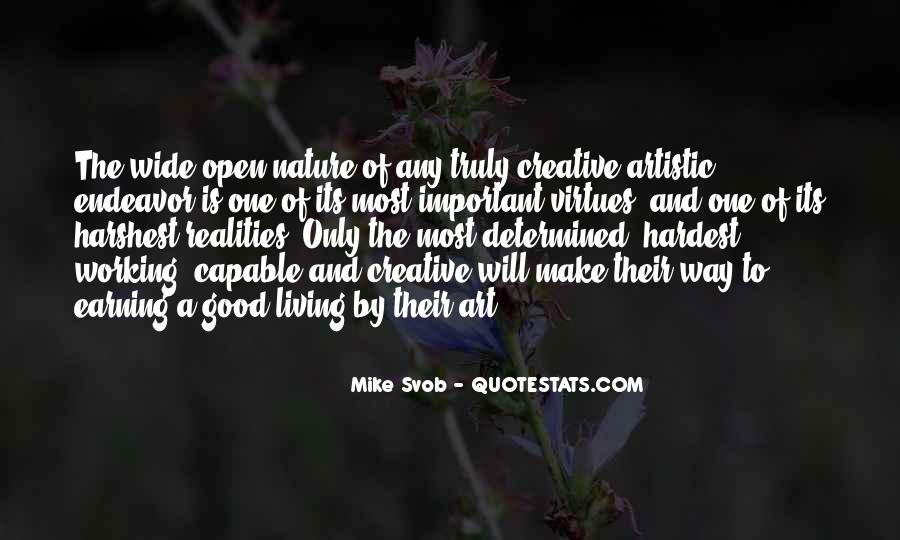 Quotes About Creative Living #1275261