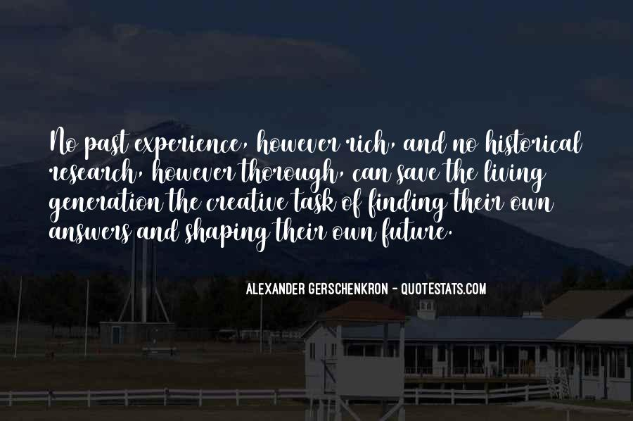 Quotes About Creative Living #1361045