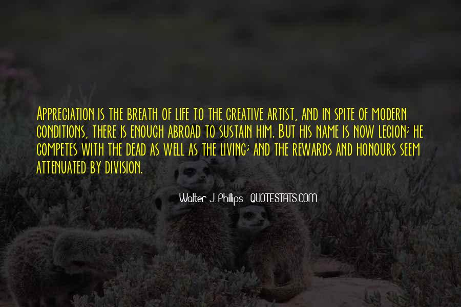 Quotes About Creative Living #1567200