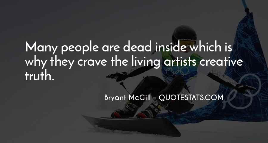 Quotes About Creative Living #161411