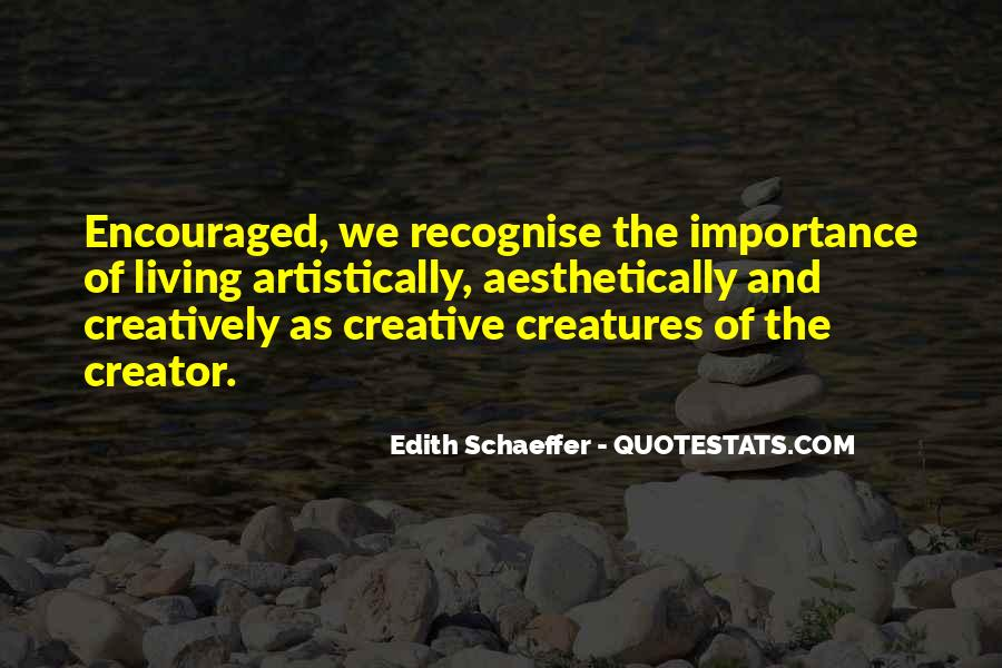 Quotes About Creative Living #1721356