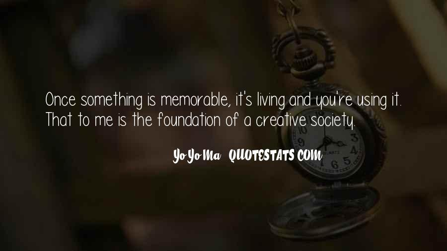 Quotes About Creative Living #1764325