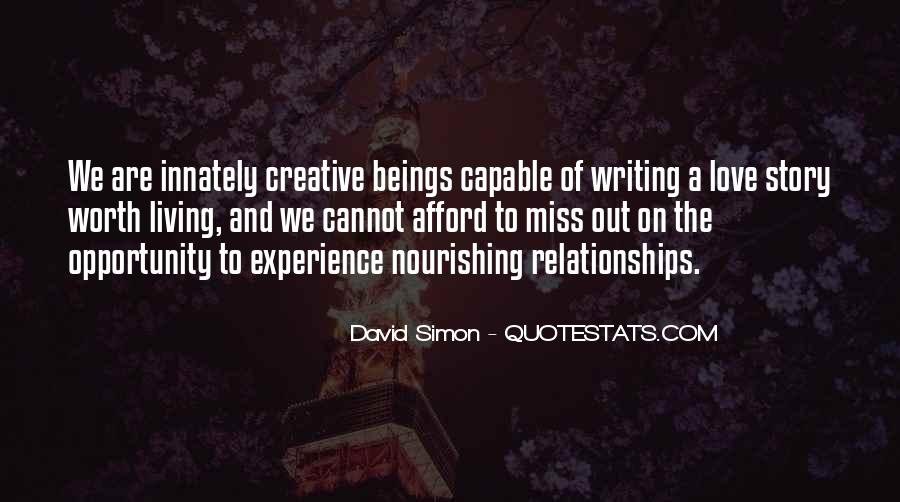 Quotes About Creative Living #203671