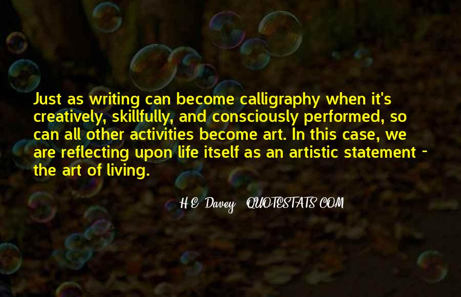 Quotes About Creative Living #491426