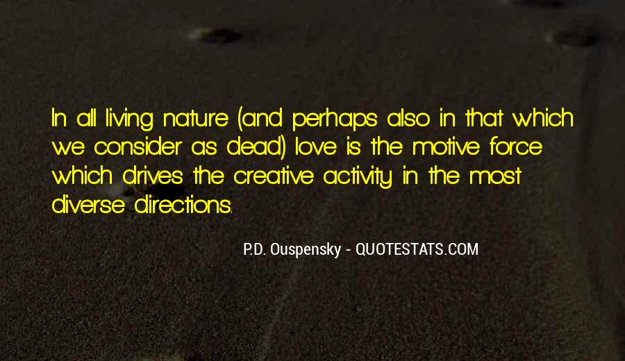 Quotes About Creative Living #518020