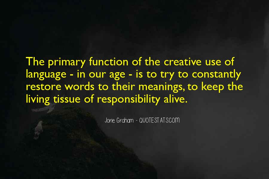 Quotes About Creative Living #833376