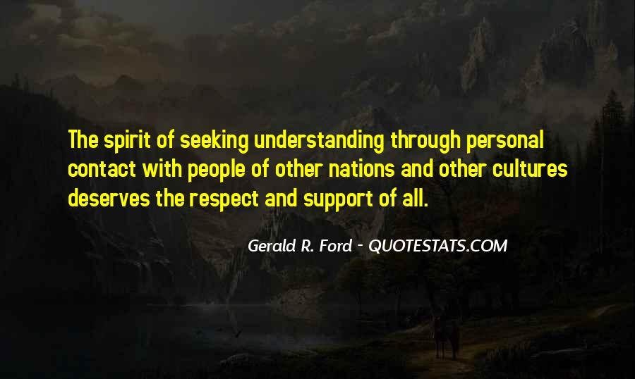 Quotes About Seeking Understanding #1723818