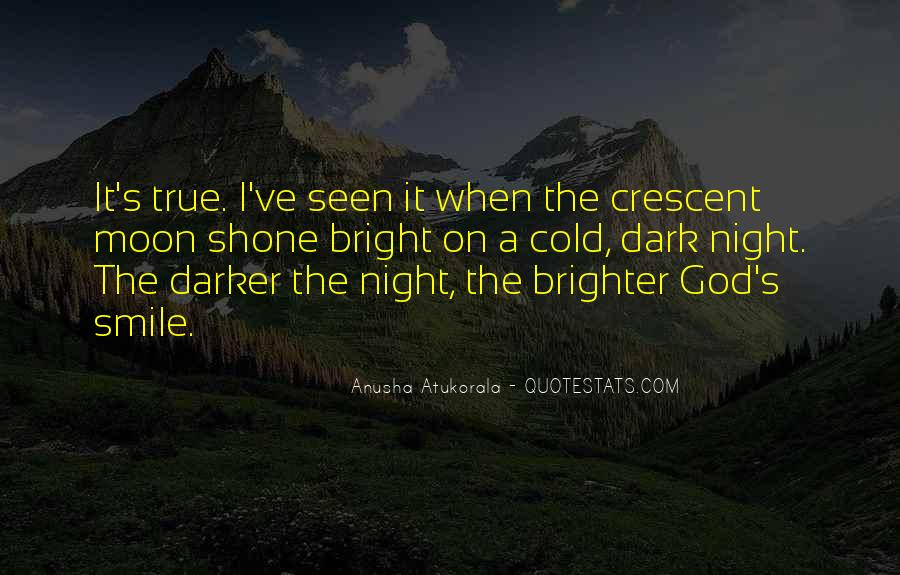 Quotes About Crescent #1209018
