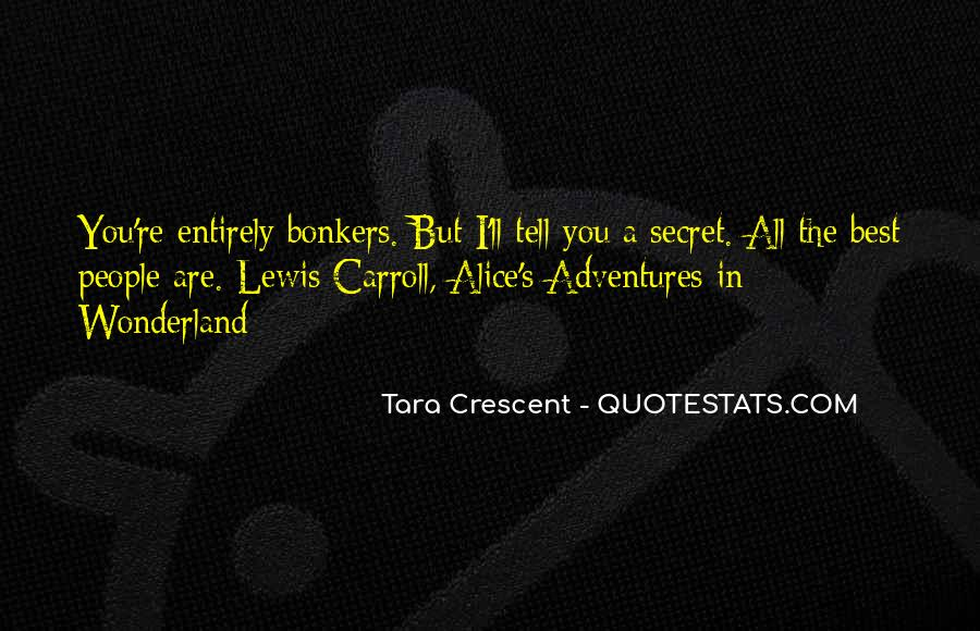 Quotes About Crescent #1401992
