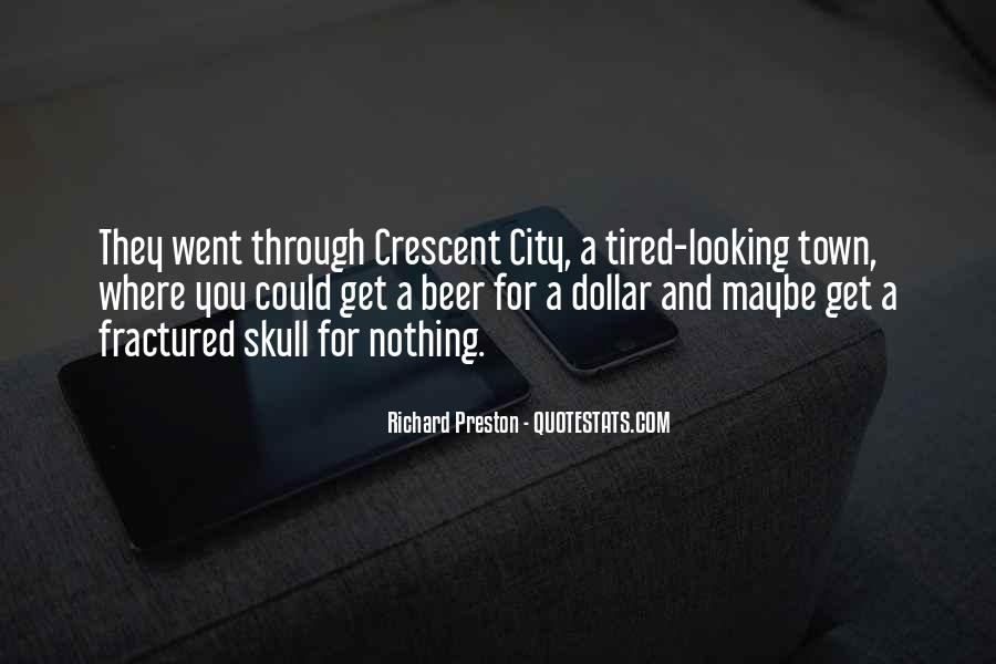 Quotes About Crescent #682677