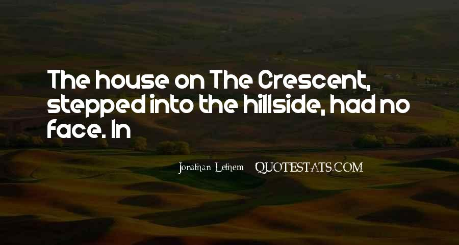 Quotes About Crescent #969651
