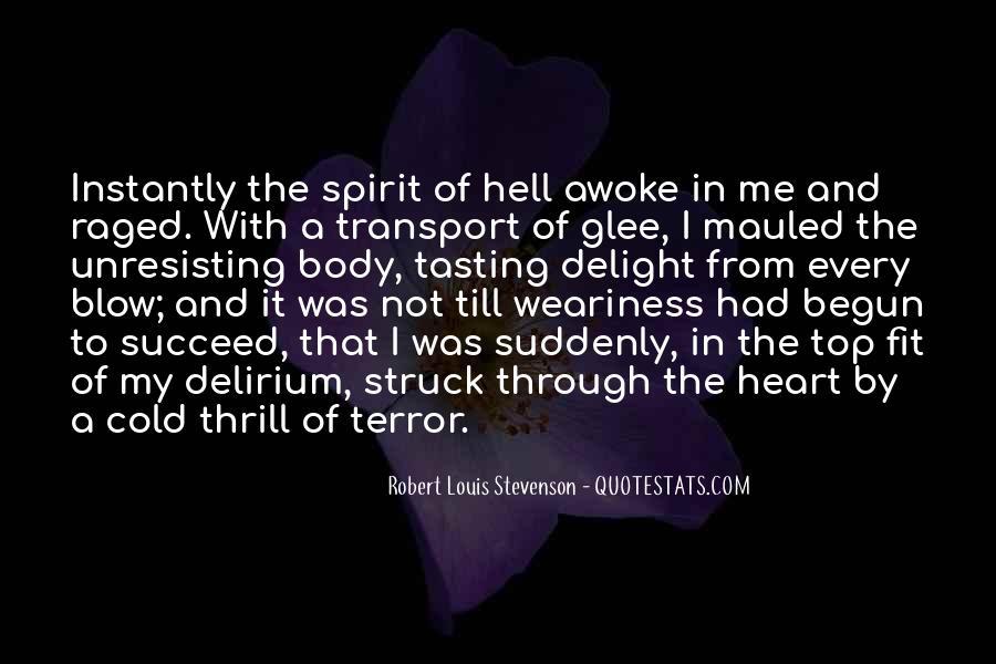 Quotes About Delirium #1101323